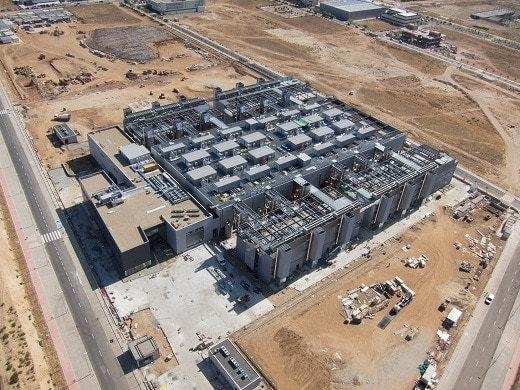 Construcción del innovador Centro de Procesamiento de Datos que realiza Ferrovial Agroman