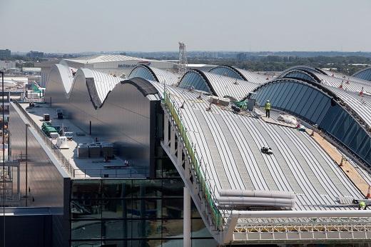 Construcción-Terminal2A-Aeropuerto-Heathrow