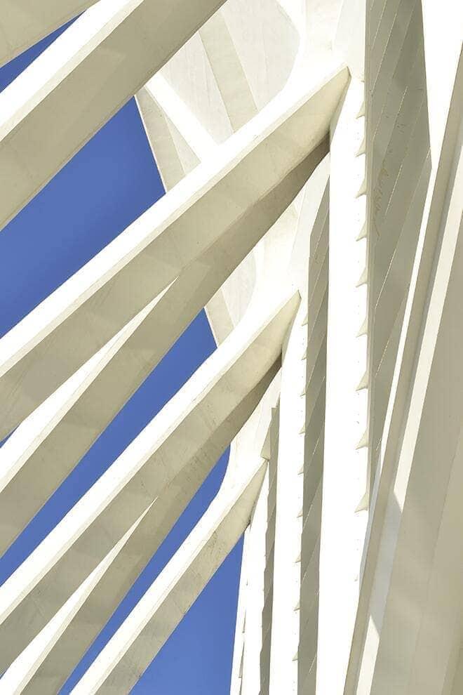 """Beams beaming in Valencia (Spain) """"Ciudad de las Artes y de las Ciencias"""""""