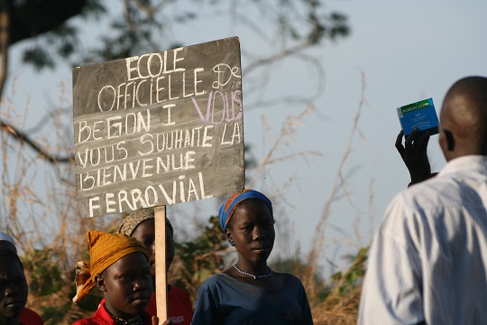 Ferrovial-CSR-Water-Supply-Chad-Social-Action