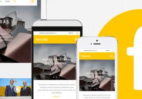 ferrovial web responsive