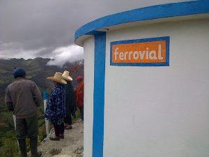 Equipo de la comunidad, Plan y Ferrovial en el proyecto social