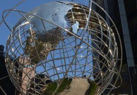 el globo la tierra