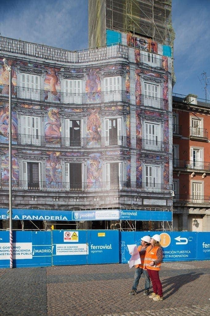 Proyecto restauracion casa de la panaderia ferrovial 2015