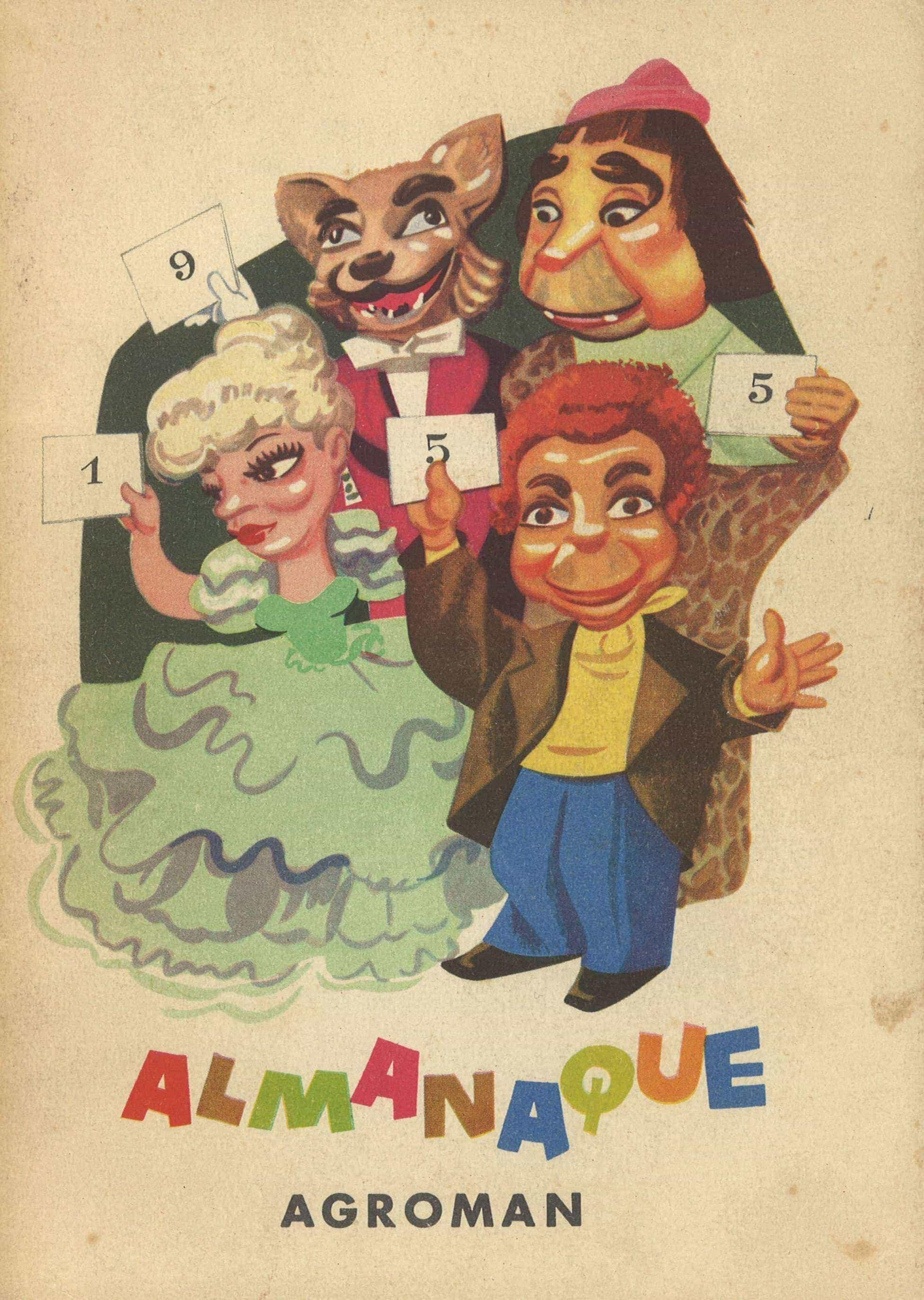 almanaque agroman 1955