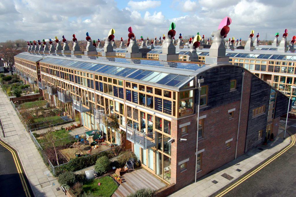 Desarrollo Beddinfton de energía cero, Hackbridge, Londres