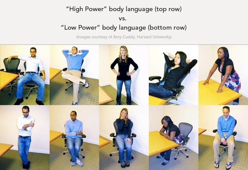 body language power poses