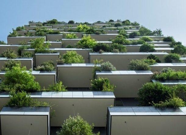 edificios verdes que integran la naturaleza