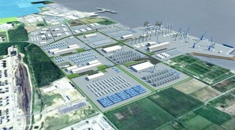 Futura terminal en el Puerto de Humber