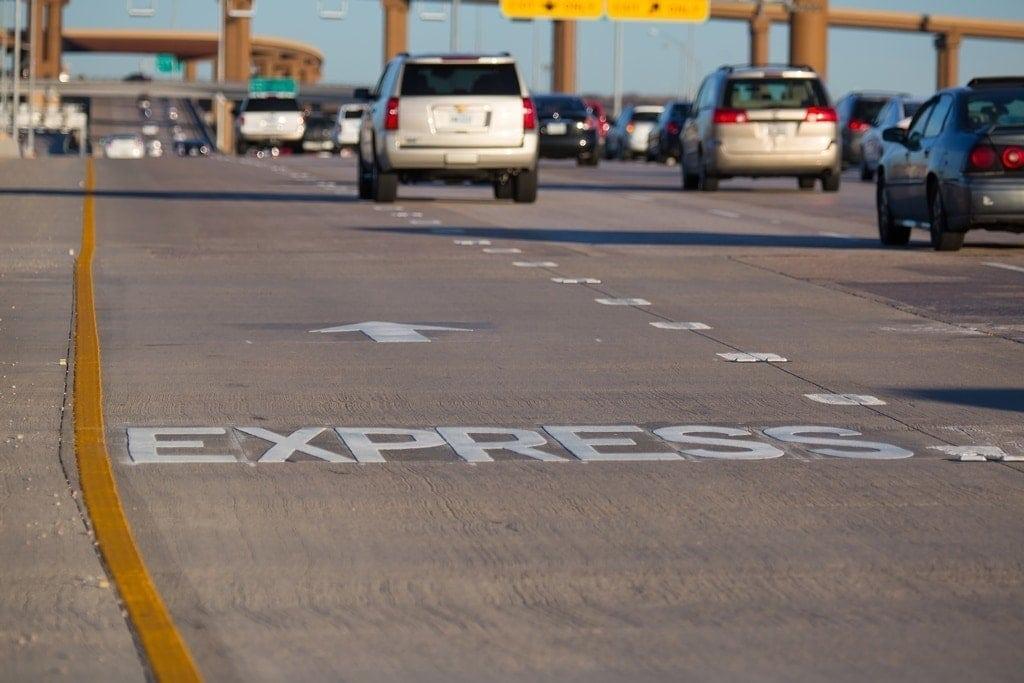 Impresionante autopista LBJ Express Texas por Ferrovial