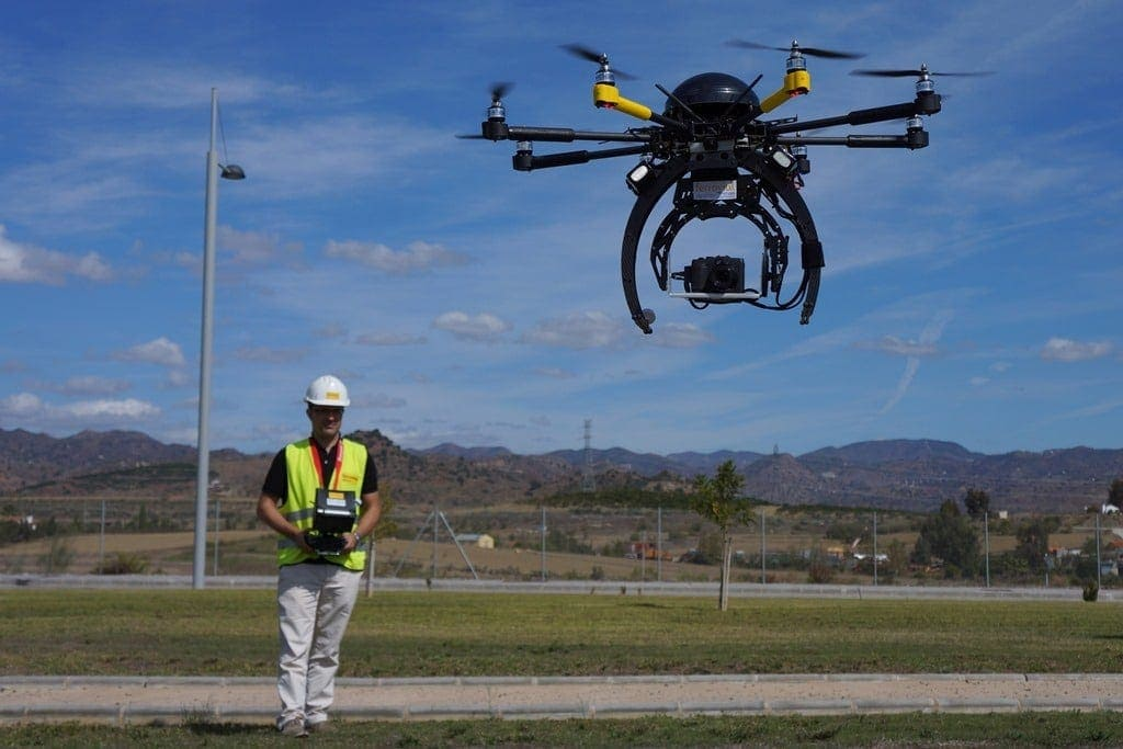Companies That Make Drones >> The use of drones in construction: a different way of ...