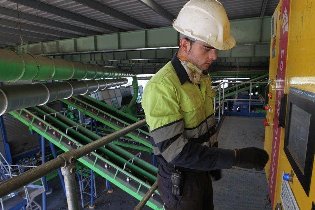 International Graduate programme rotation, Waste treatment plant