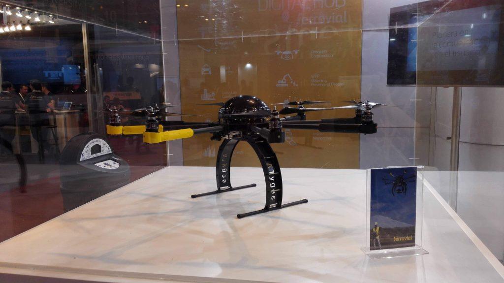 drones para la construccion ferrovial agroman inteligencia de las maquinas