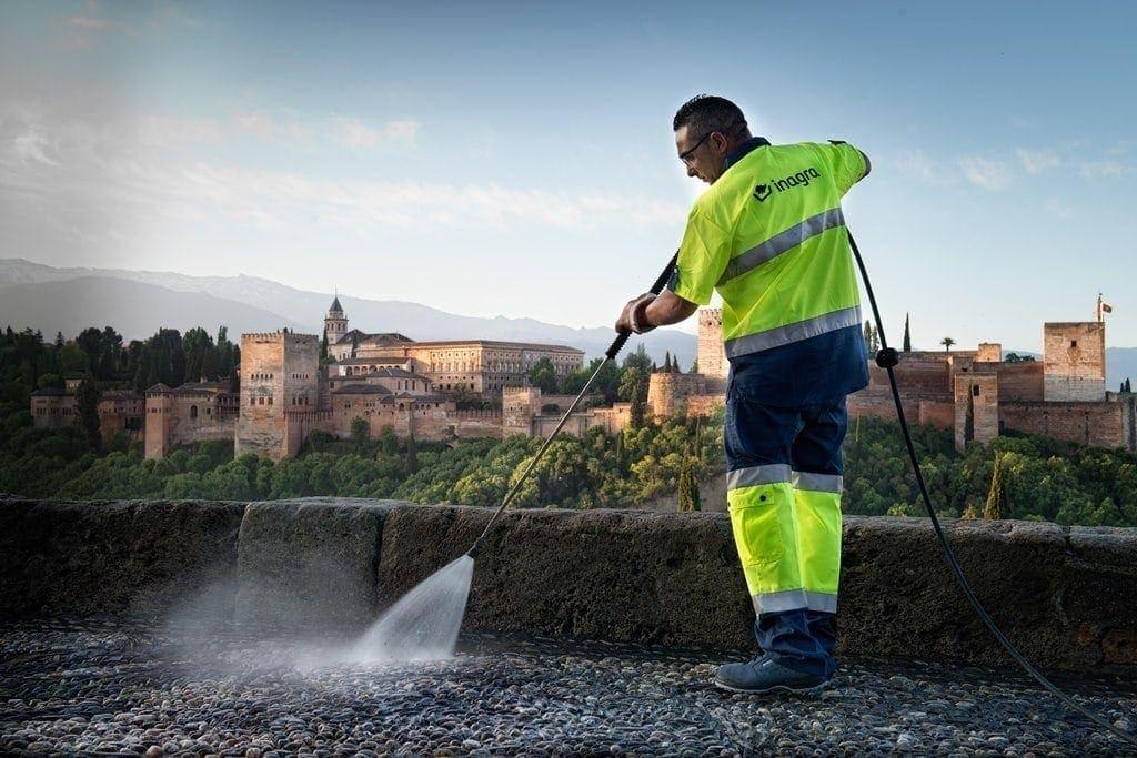 International Graduate programme, urban cleaning in Granada