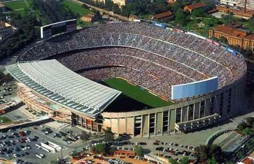 camp nou futbol club barcelona