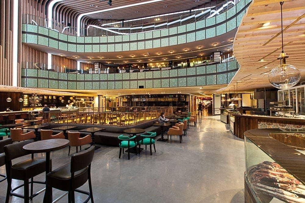 Platea centro gastronomico mas grande de europa