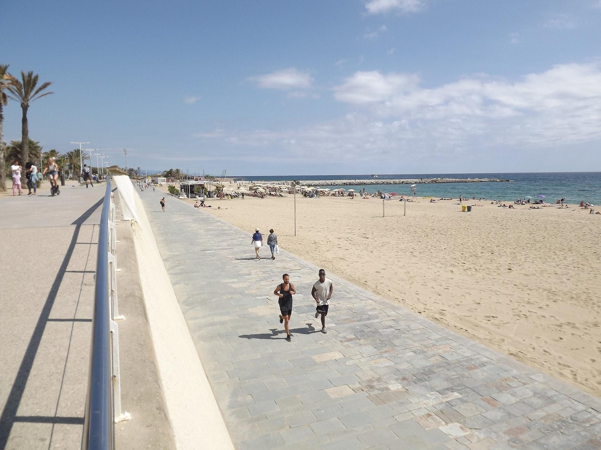 playa villa olimpica barcelona 92