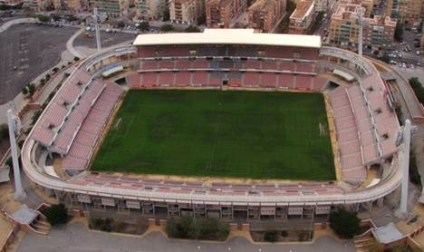 Cármenes Football Stadium in Granada