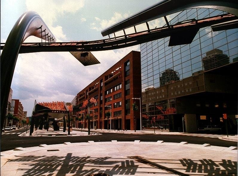 urbanización villa olímpica juegos olimpicos barcelona 92