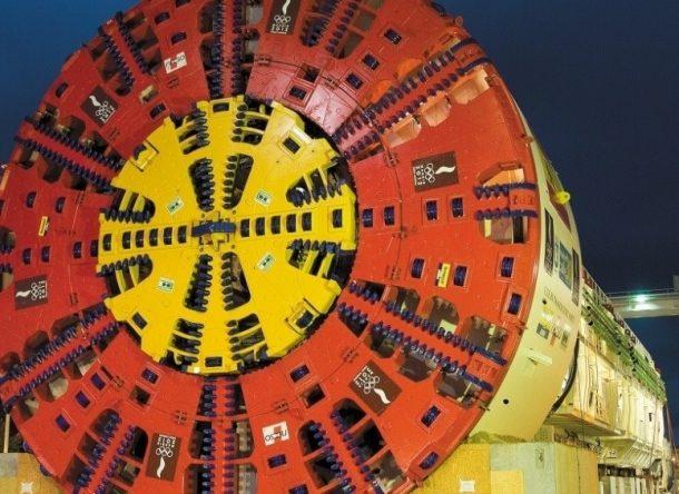 dulcinea la tuneladora mas grande del mundo en 2007