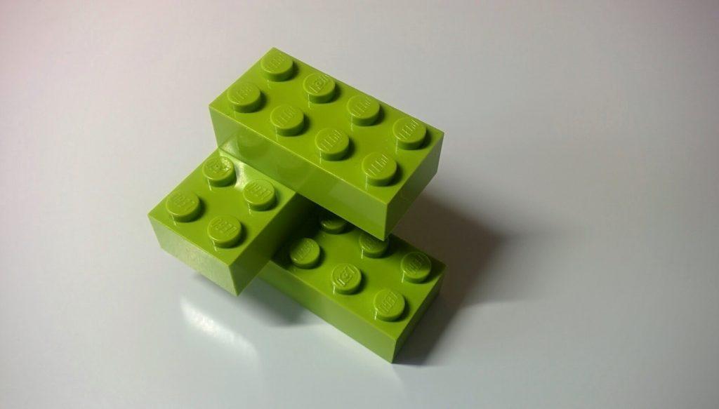 piezas de legos