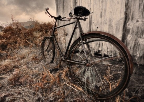 abandoned bicycle ferovial
