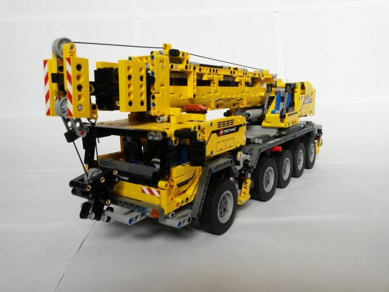 Truck built with Lego pieces. Source: Wikipedia