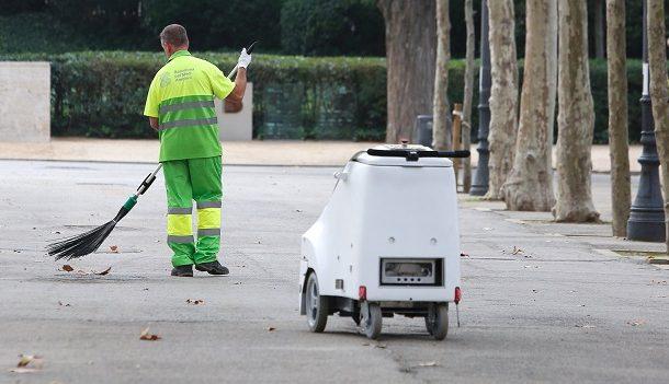 robot ferrovial barcelona