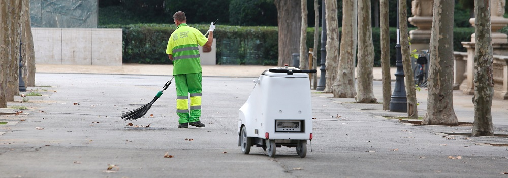 A robot to help street cleaners - Ferrovial Blog