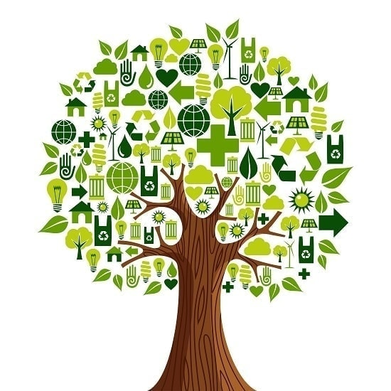 arbol-de-elementos-reciclados