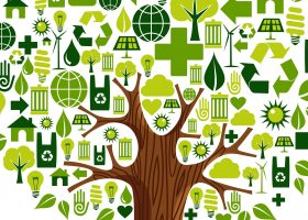 tree of recycling elements