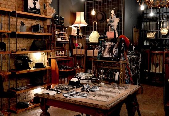 Regalos de una tienda vintage