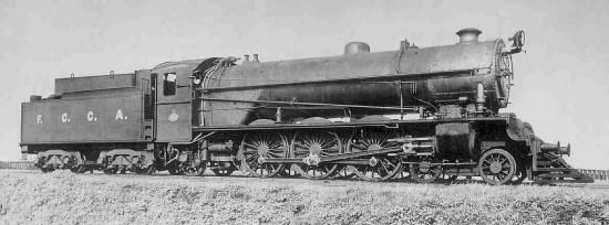 A Locomotora caprotti train