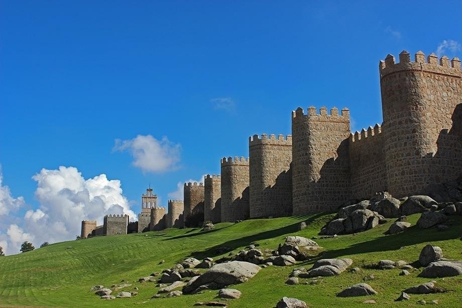 muralla de avila - wall in avila lesser elements construction