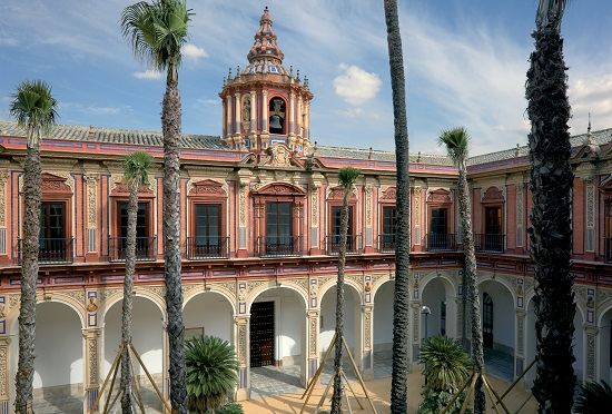 Restauración del Palacio de San Telmo en Sevilla