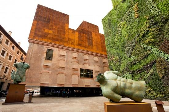 Restauración de la caixa forum en madrid