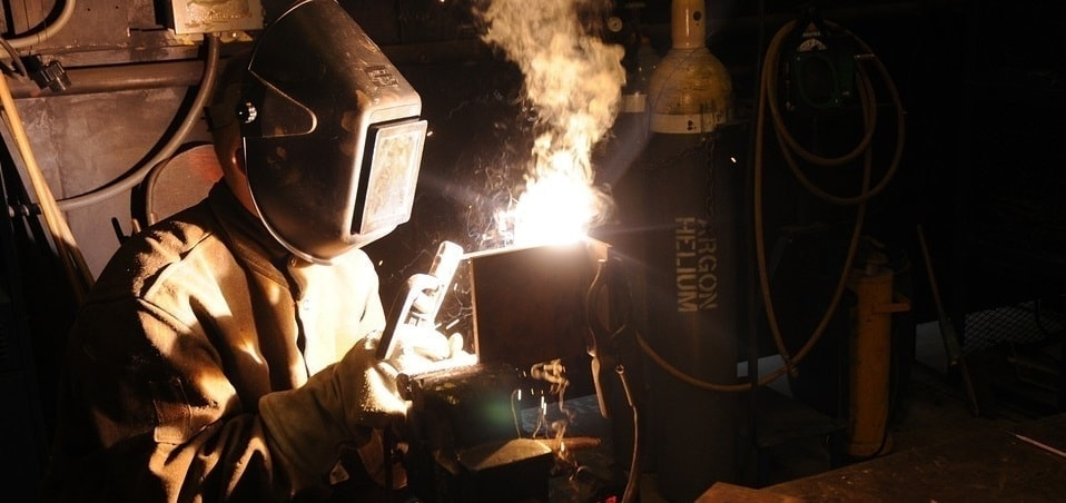 welding lesser elements construction