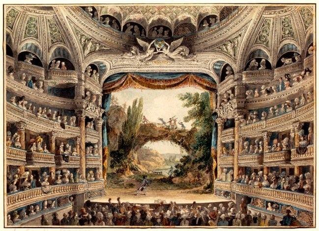 Un teatro en Paris
