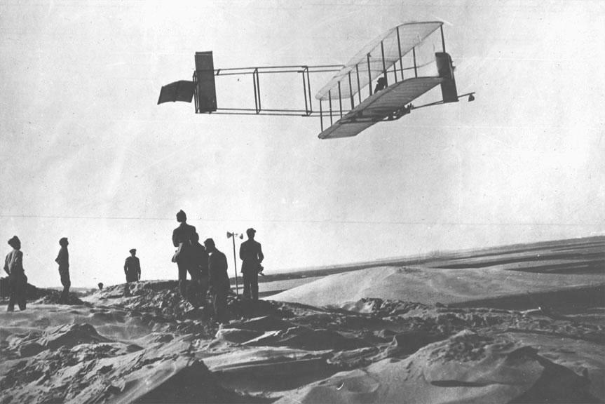 Primeros vuelos con aeroplano