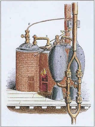 World water day first steam engine