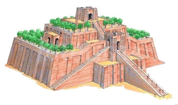 ziggurat mesopotamia example pyramid