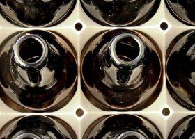 botellas reutilizables de cristal