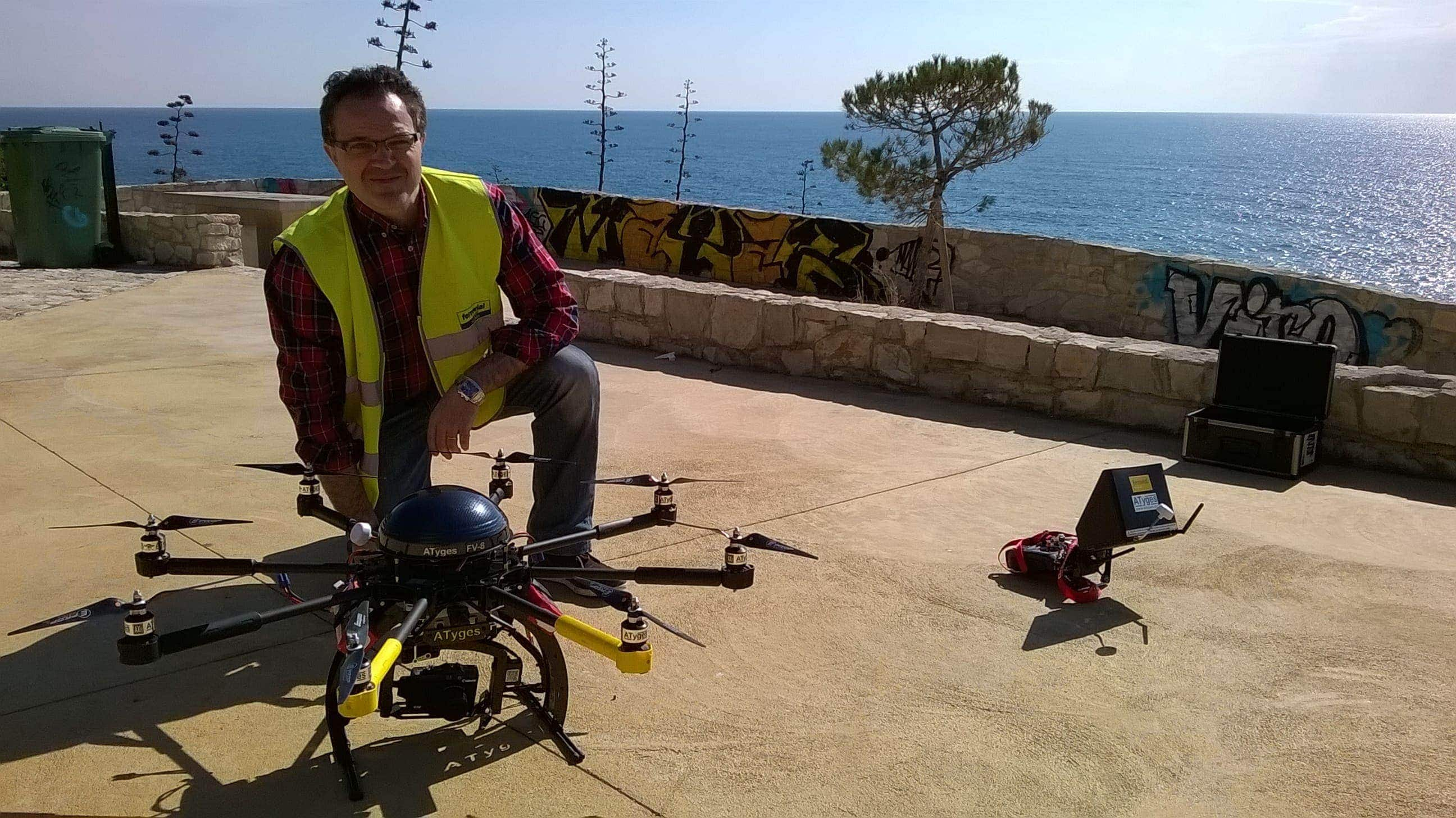 uses of drones ferrovial digital hub