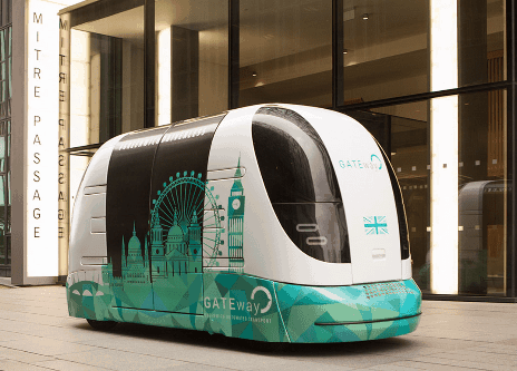 Navya ARMA driverless cars pods