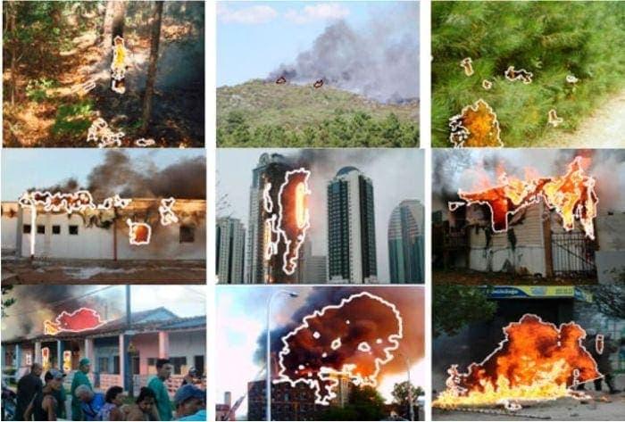 drones y el medio ambiente fuegos