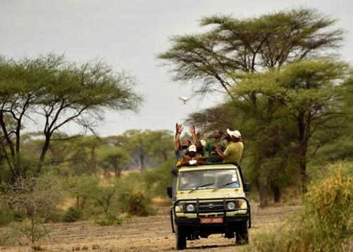 drones y el medio ambiente en kenya