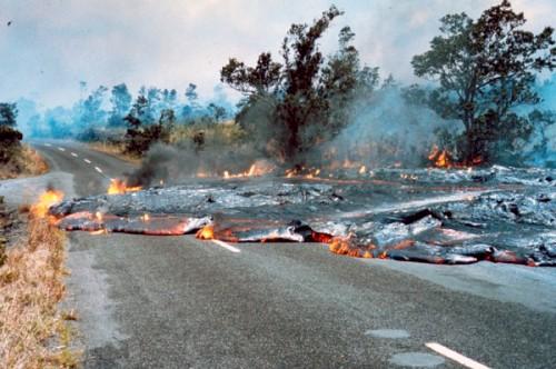 volcanes hawaianos kilauea 1973