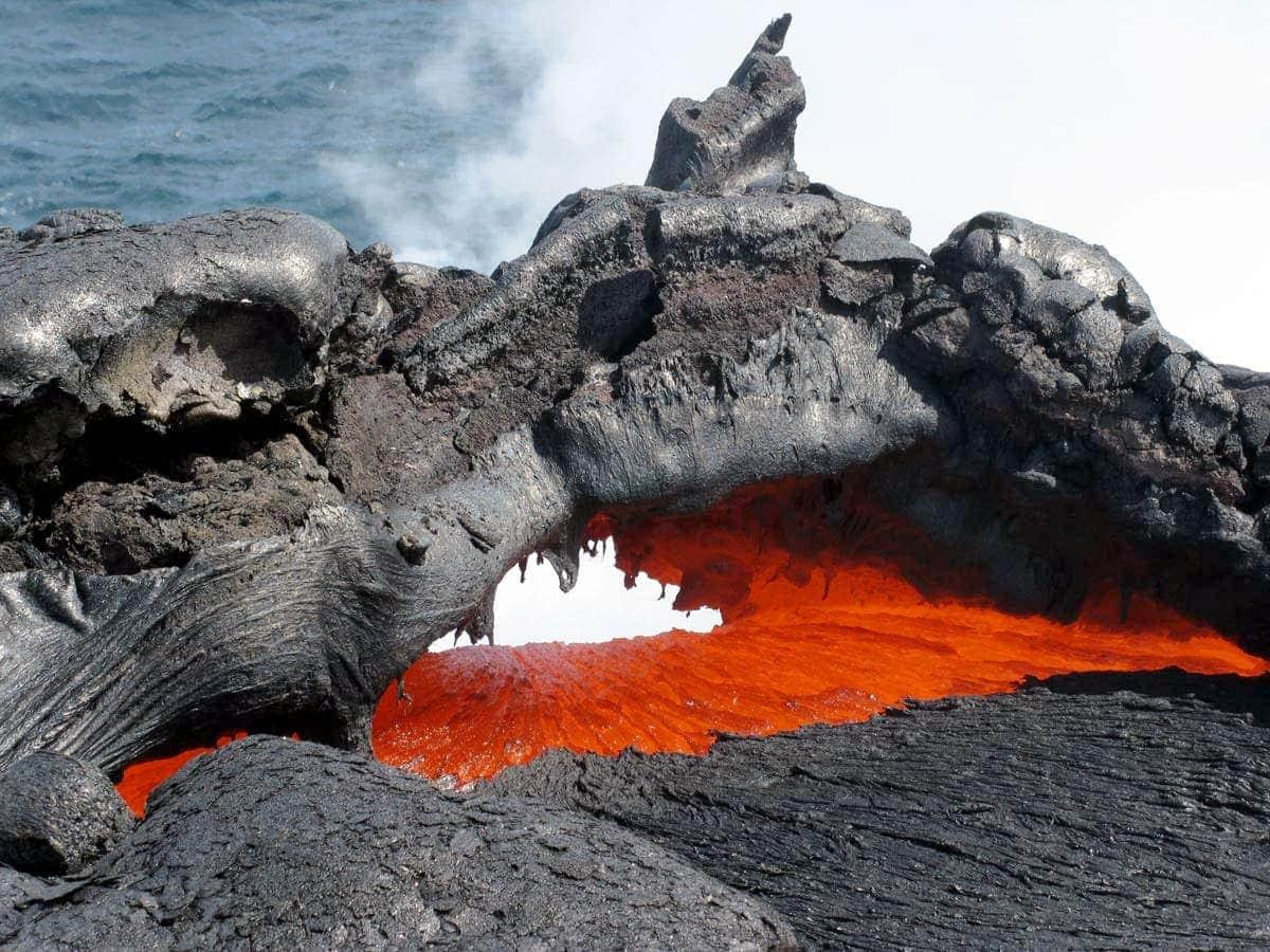 Volcanes Hawaianos lava