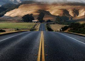 self healing asphalt california