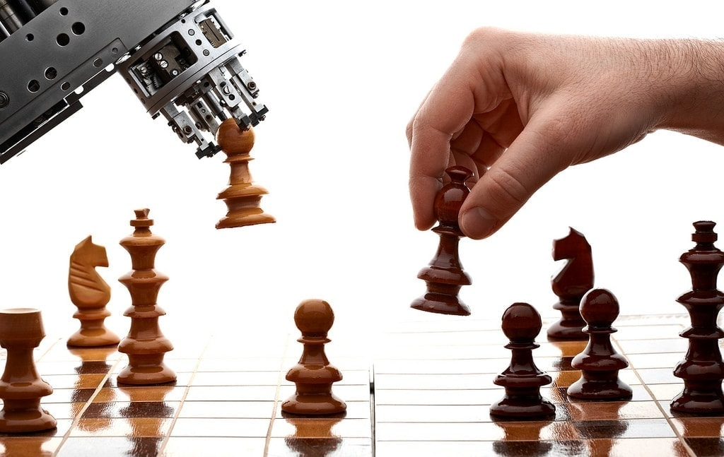 humans-vs-machines chess game